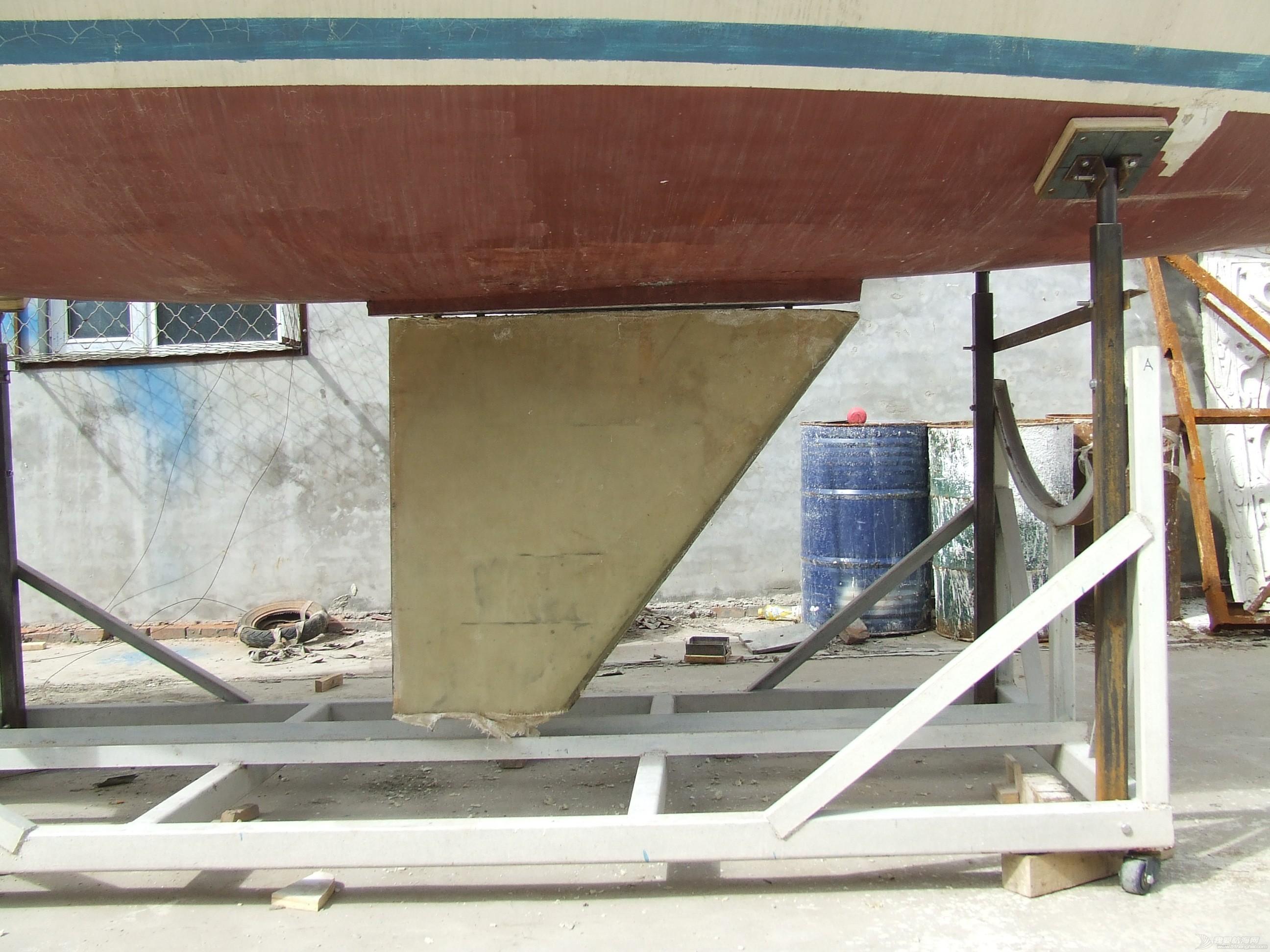 帆船 GR-750帆船龙骨安装 DSCF8063.JPG