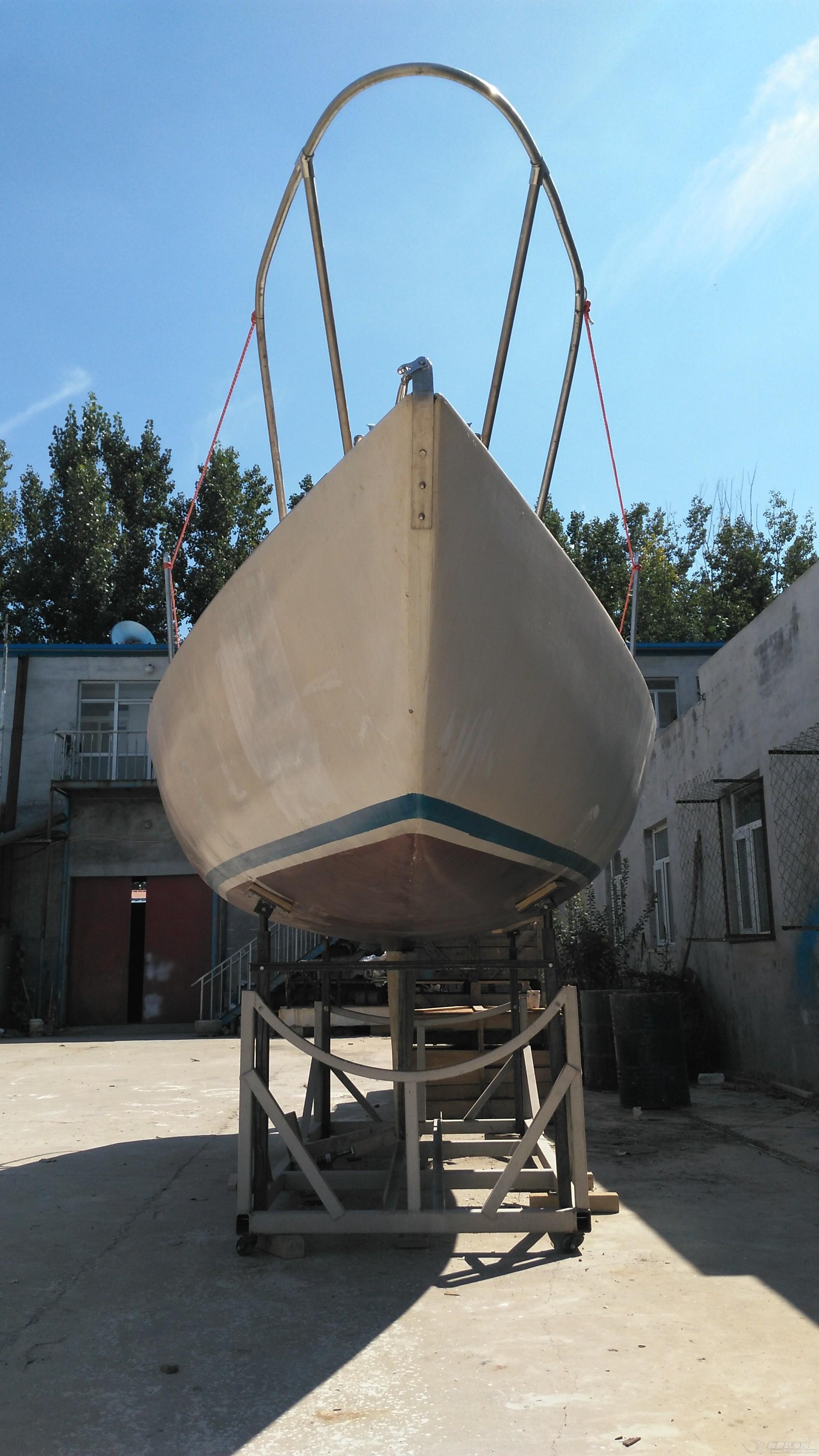帆船 GR-750帆船龙骨安装 IMG_20160902_132749.jpg