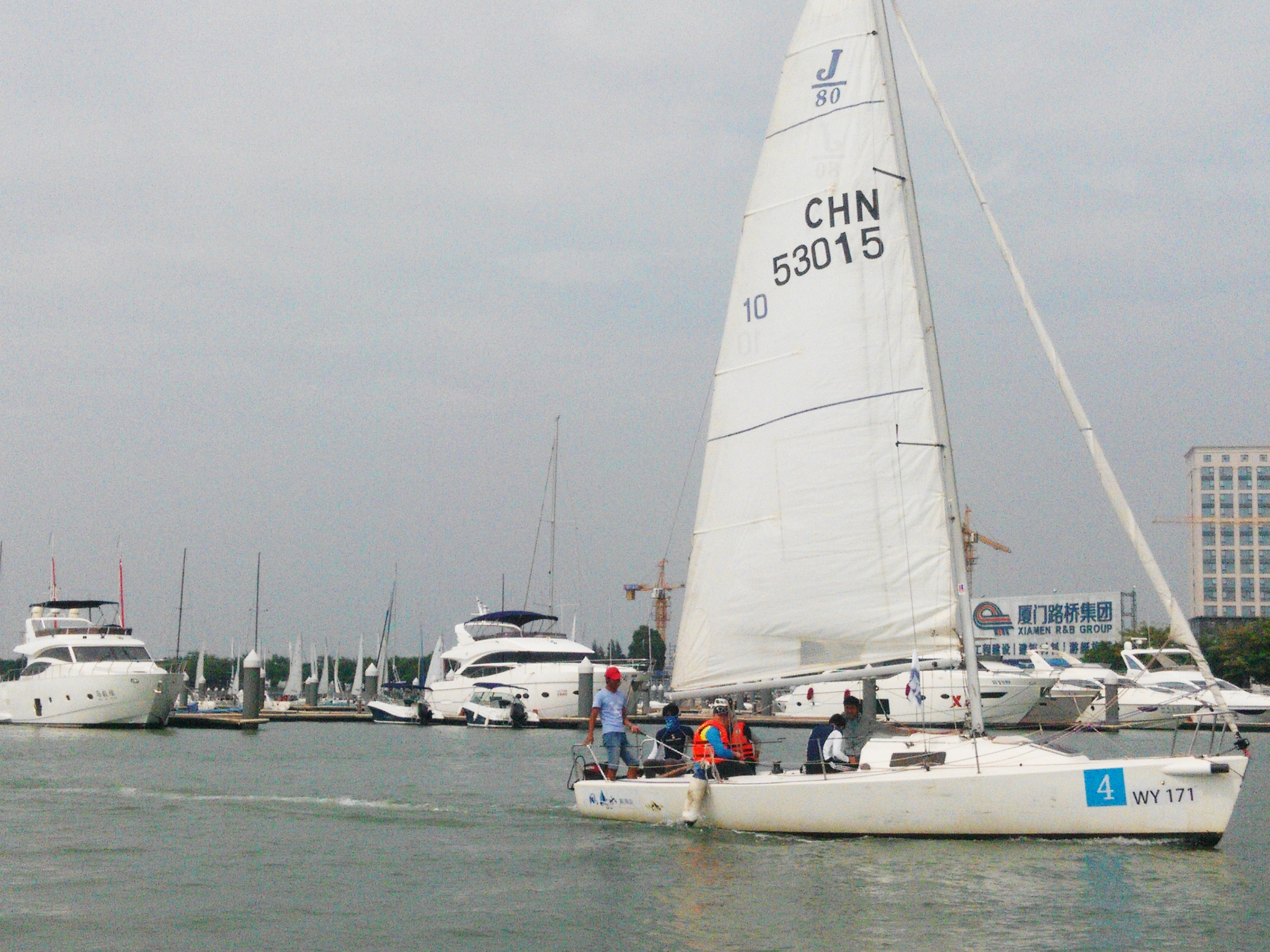 泛太平洋,厦门 我与厦门第三届泛太平洋高校帆船赛(一) 帆船1.jpg