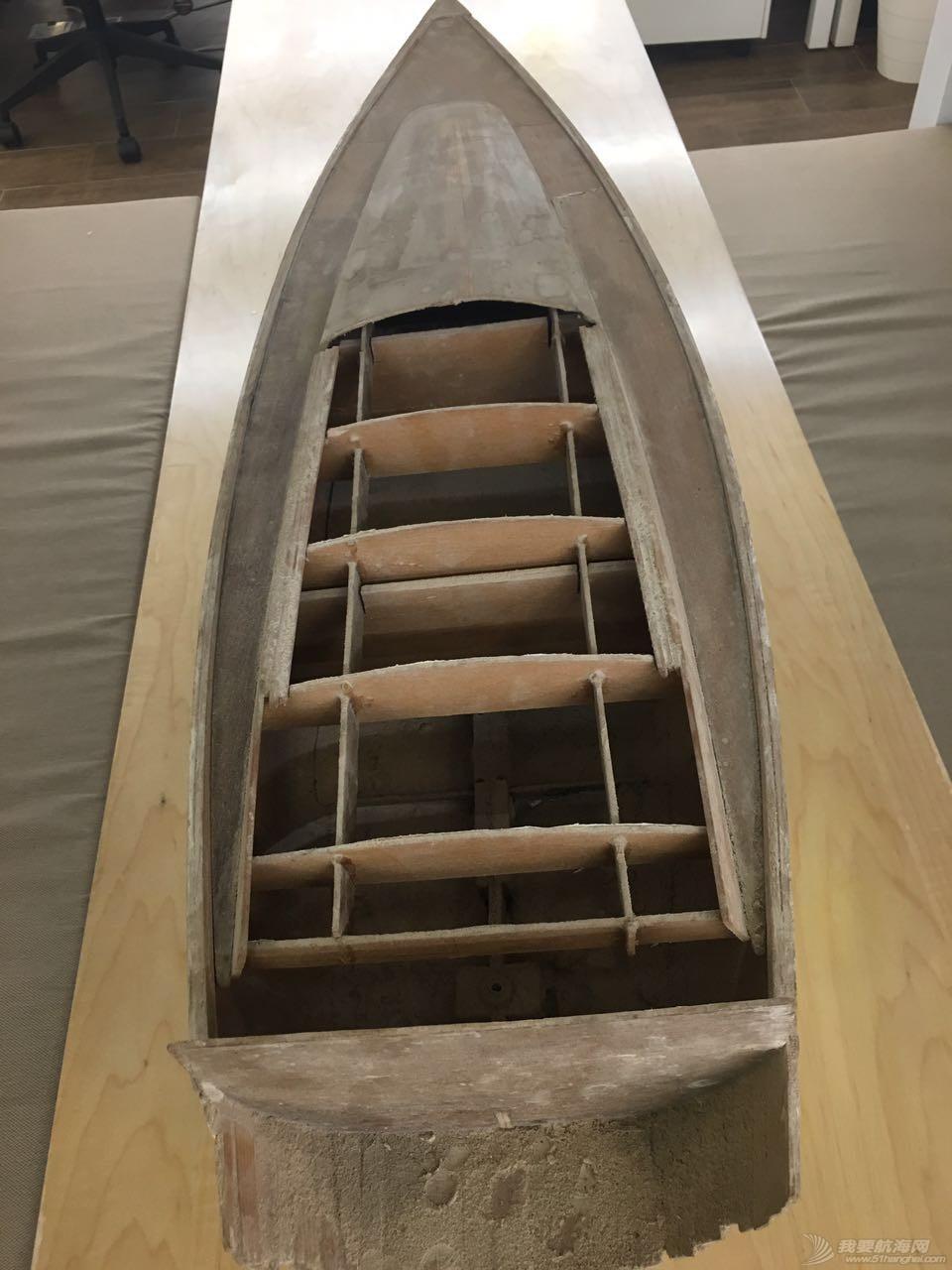 开始做10:1的6.5米实景船模