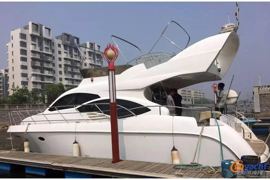 太阳鸟 二手游艇|Sunbird 48尺豪华飞桥动力艇150万转售 6480d0b237b3e9a605684f54b63454af.jpg