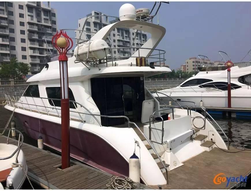 二手游艇|Sunbird 58尺豪华动力飞桥艇200万转售 5dd98bed313fc24f051661af4e2712c3.jpg