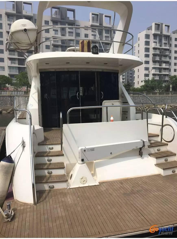 二手游艇|Sunbird 58尺豪华动力飞桥艇200万转售 6cf7fed236b6bfe6d70d01bae3bec94d.jpg
