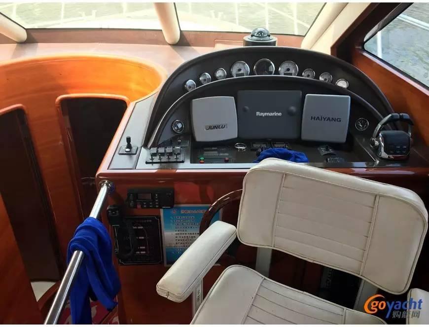 二手游艇|Sunbird 58尺豪华动力飞桥艇200万转售 d27d44ba640133017a63d9fe88479c18.jpg