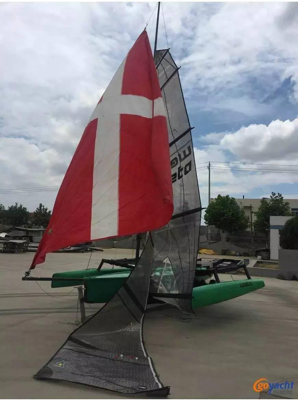 新西兰,一手货源,二维码,性价比,朋友 现货出售|新西兰Weta三体帆船国内现船7.5万出售 5c7e993de28442d13e754c126c866e6f.jpg