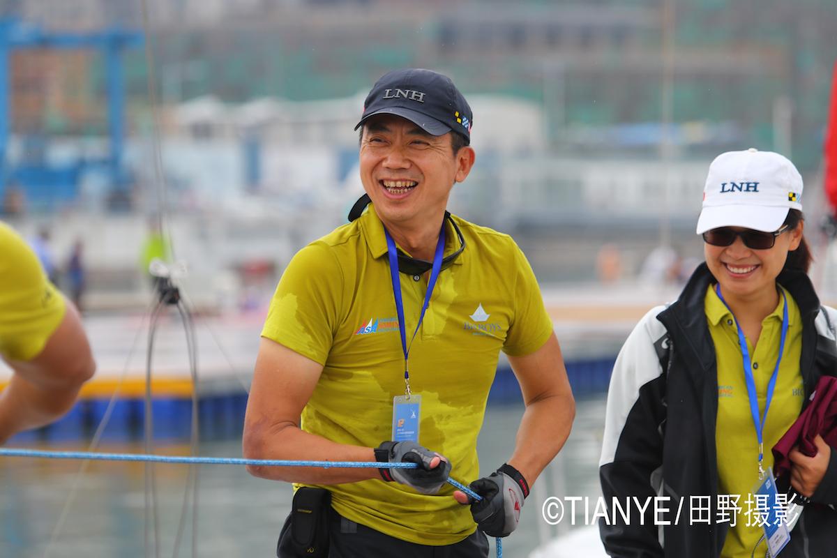 厦门 帆折人不折  厦门俱乐部杯帆船赛如期开赛--田野摄影 AG3I1696副本.JPG