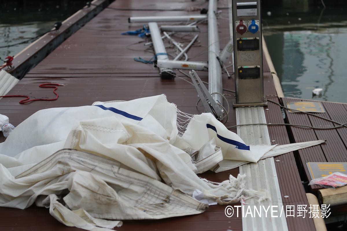 厦门 帆折人不折  厦门俱乐部杯帆船赛如期开赛--田野摄影 AG3I1806副本.JPG
