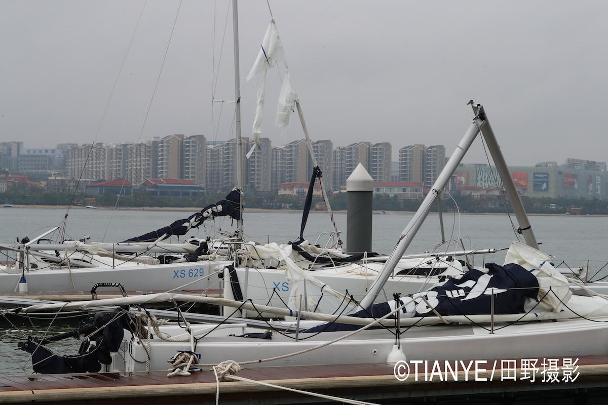 厦门 帆折人不折  厦门俱乐部杯帆船赛如期开赛--田野摄影 AG3I1815副本.JPG