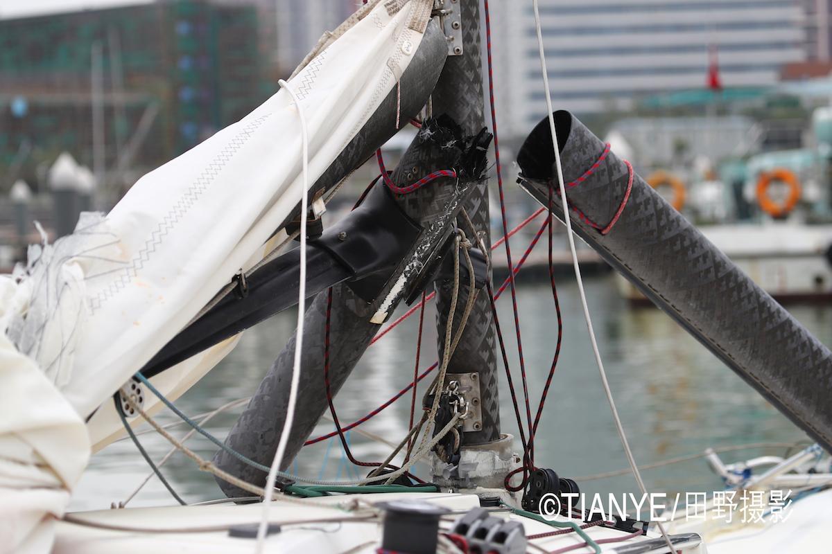 厦门 帆折人不折  厦门俱乐部杯帆船赛如期开赛--田野摄影 AG3I1853副本.JPG