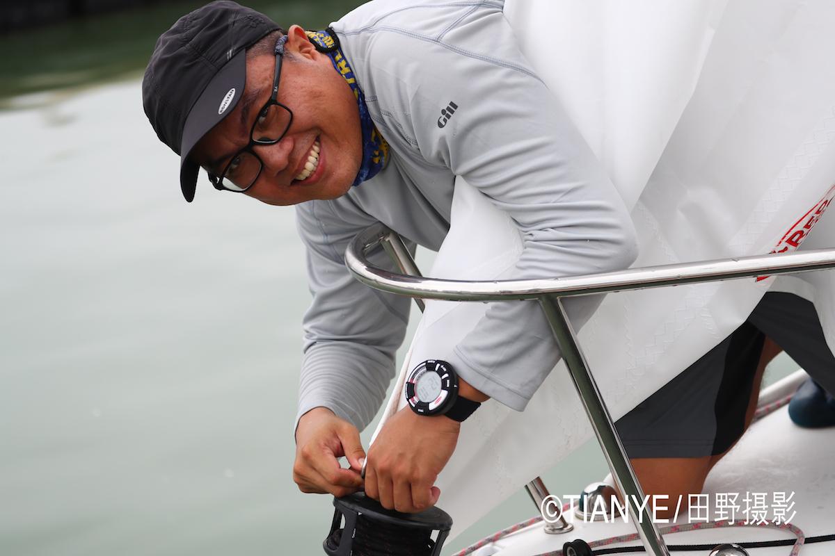 厦门 帆折人不折  厦门俱乐部杯帆船赛如期开赛--田野摄影 AG3I1873副本.JPG