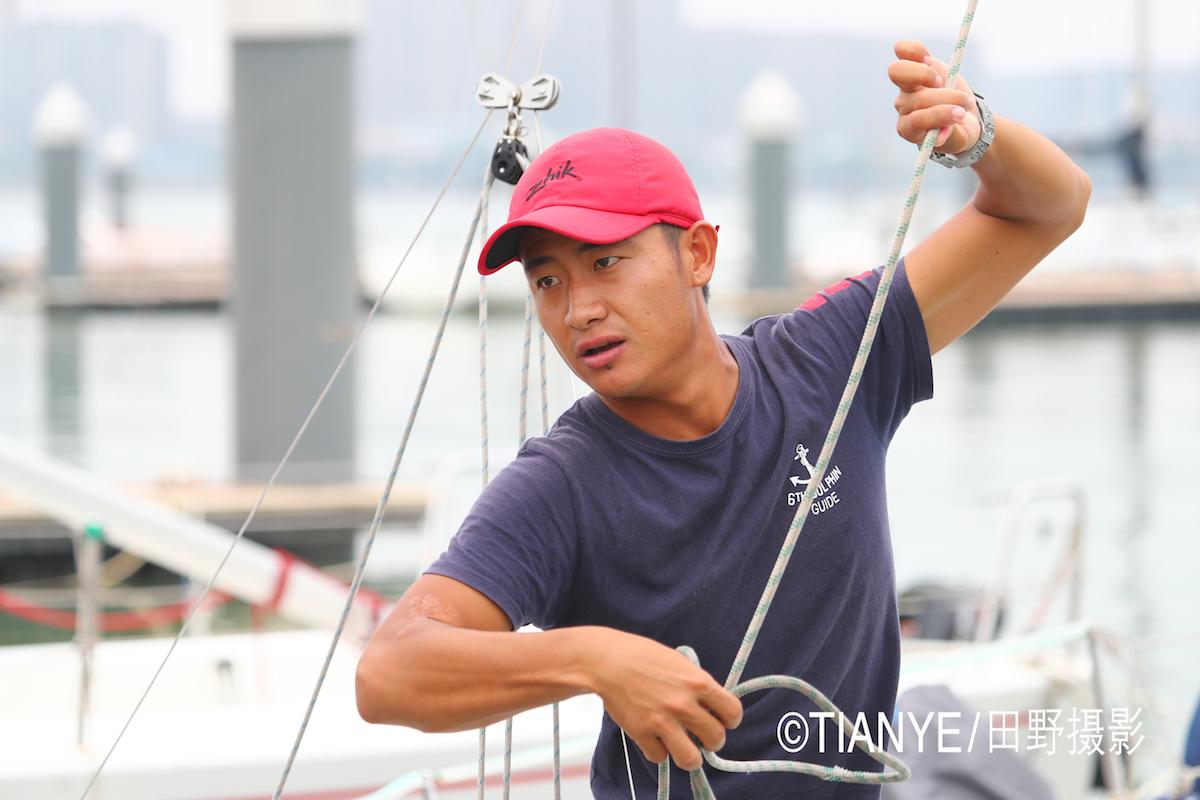 厦门 帆折人不折  厦门俱乐部杯帆船赛如期开赛--田野摄影 AG3I1903副本.JPG