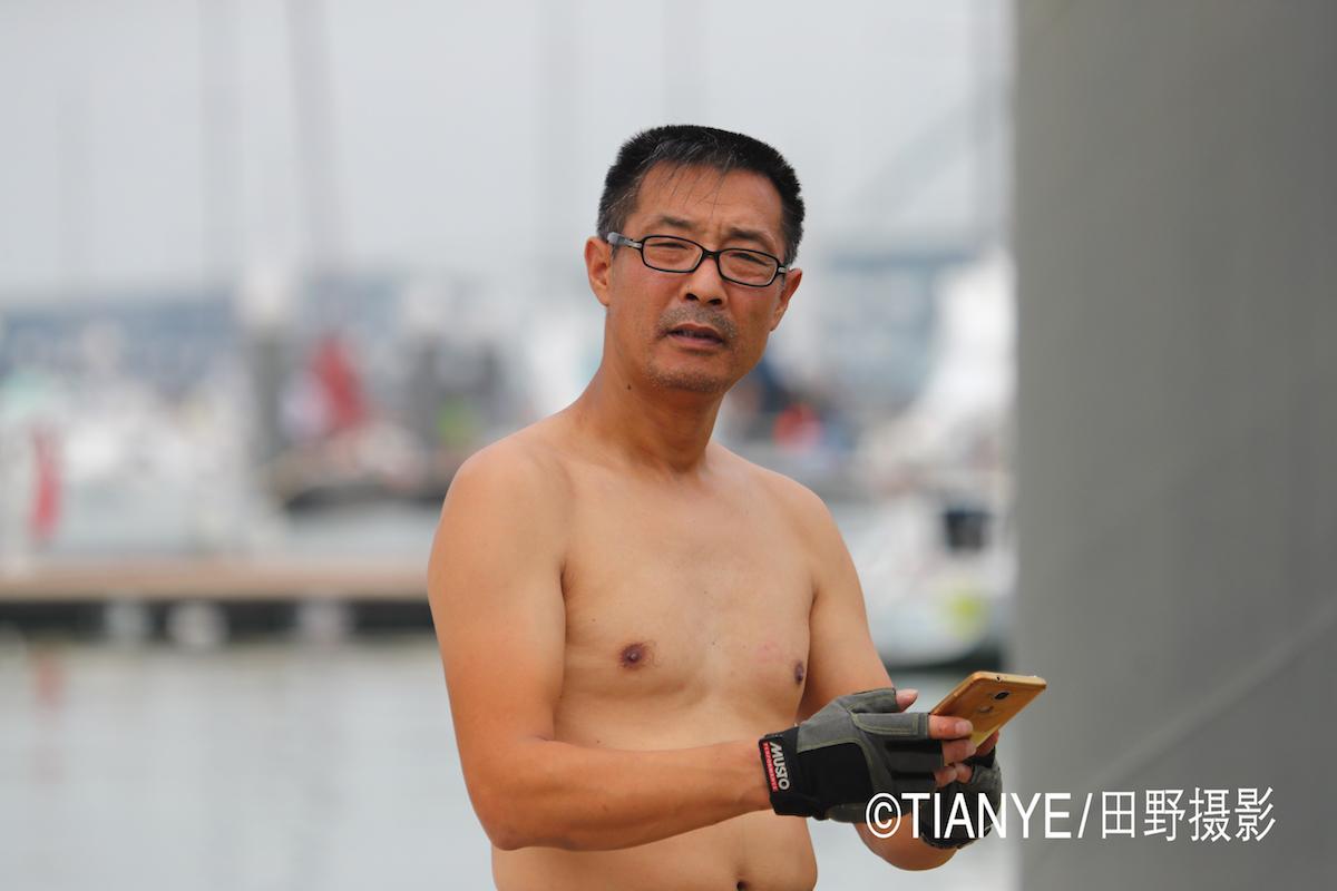 厦门 帆折人不折  厦门俱乐部杯帆船赛如期开赛--田野摄影 AG3I1936副本.JPG