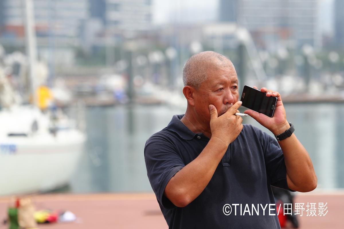 厦门 帆折人不折  厦门俱乐部杯帆船赛如期开赛--田野摄影 AG3I1984副本.JPG