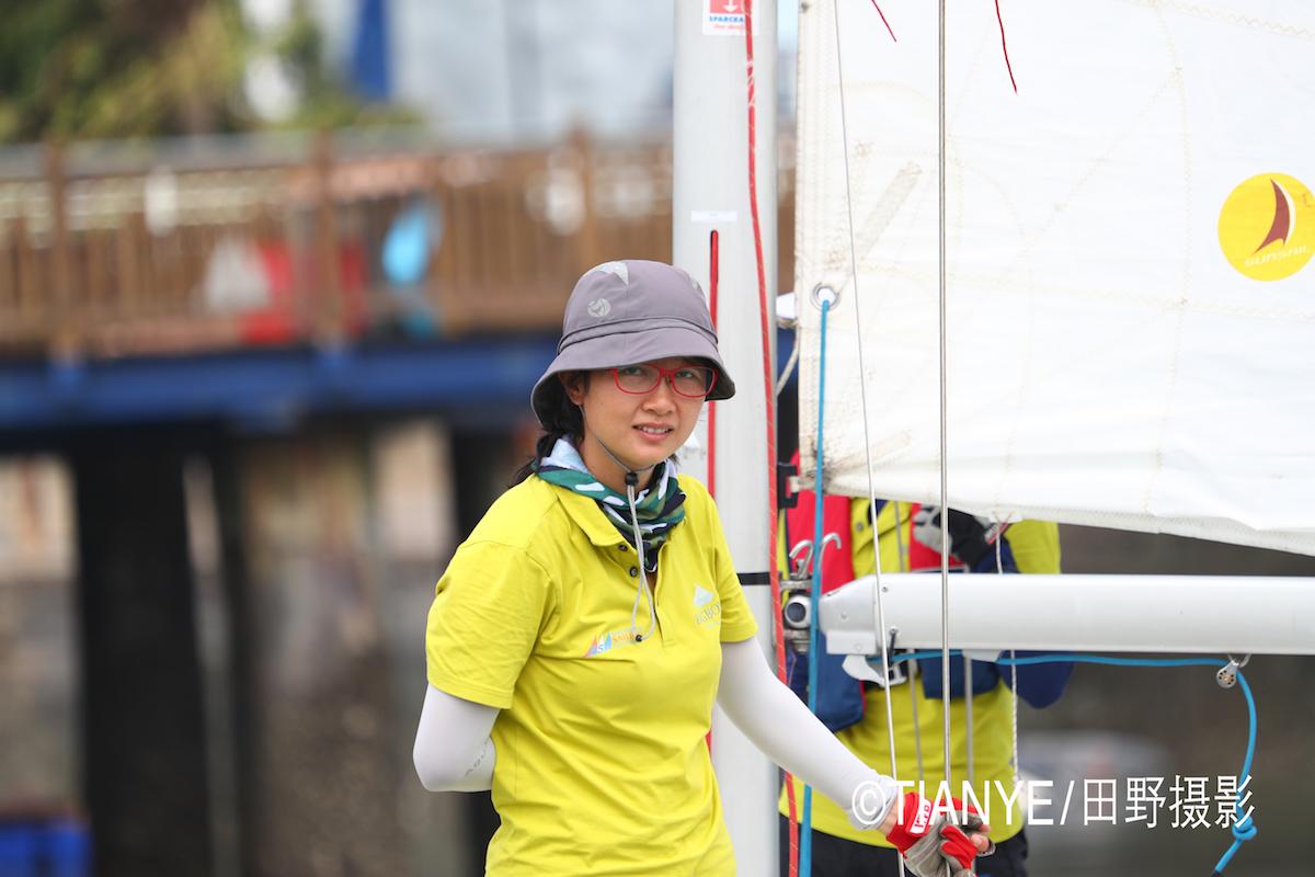厦门 帆折人不折  厦门俱乐部杯帆船赛如期开赛--田野摄影 AG3I2046副本.JPG