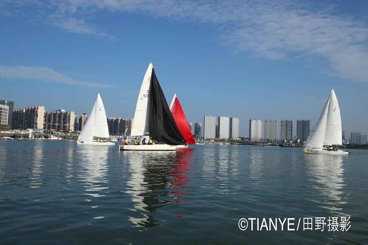 厦门 帆折人不折  厦门俱乐部杯帆船赛如期开赛--田野摄影 AG3I2170.JPG