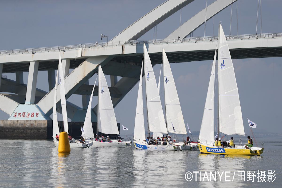 厦门 帆折人不折  厦门俱乐部杯帆船赛如期开赛--田野摄影 E78W2970.JPG