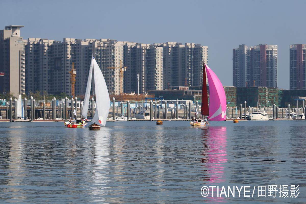 厦门 帆折人不折  厦门俱乐部杯帆船赛如期开赛--田野摄影 E78W3005.JPG