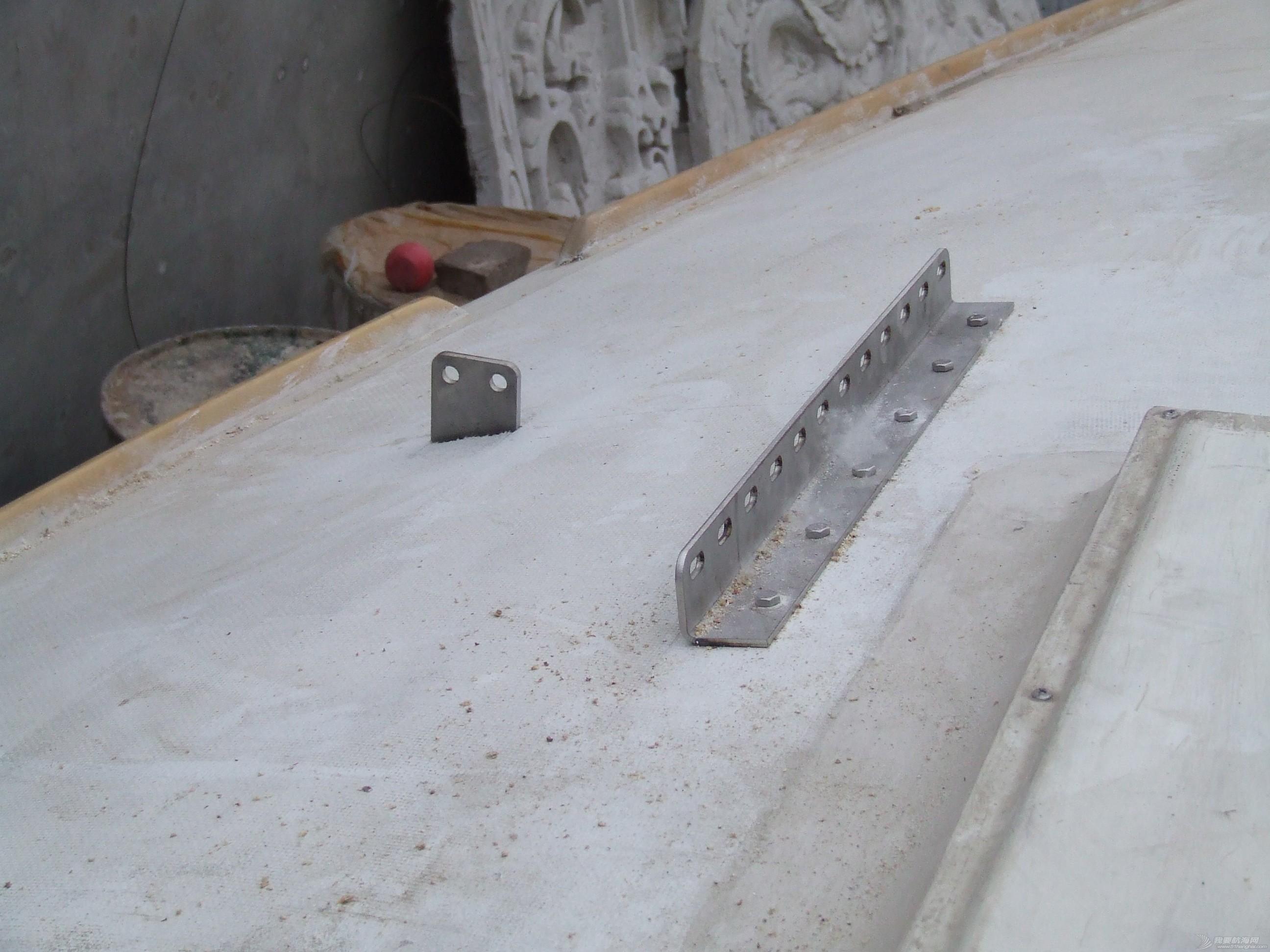 不锈钢材料,模具加工,参考照片,铝合金,设计图 七、控帆索导向滑轮滑道 DSCF7469.JPG
