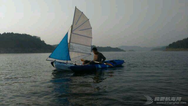 帆船 皮艇加帆冒充帆船diy 20141008083632_543487101e8c9.jpg