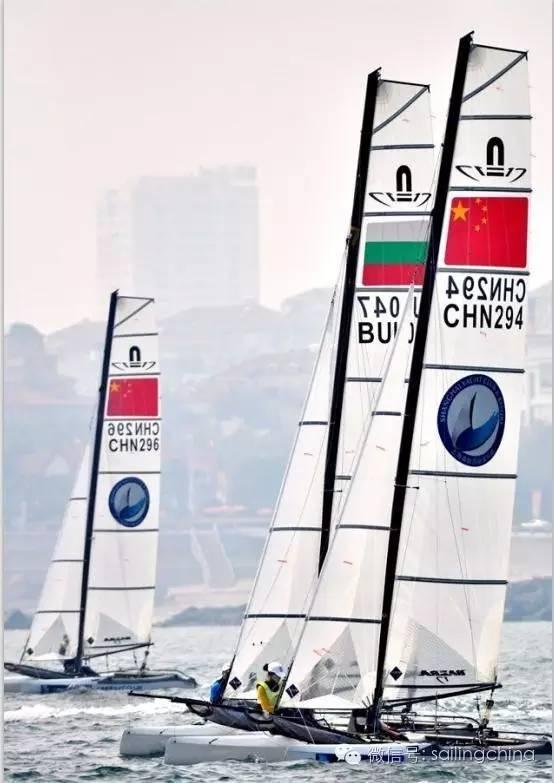 蓝天 碧海 白帆 世界杯帆船赛青岛站今日扬帆 ae908dc1e792950987975f4d9b86b53d.jpg