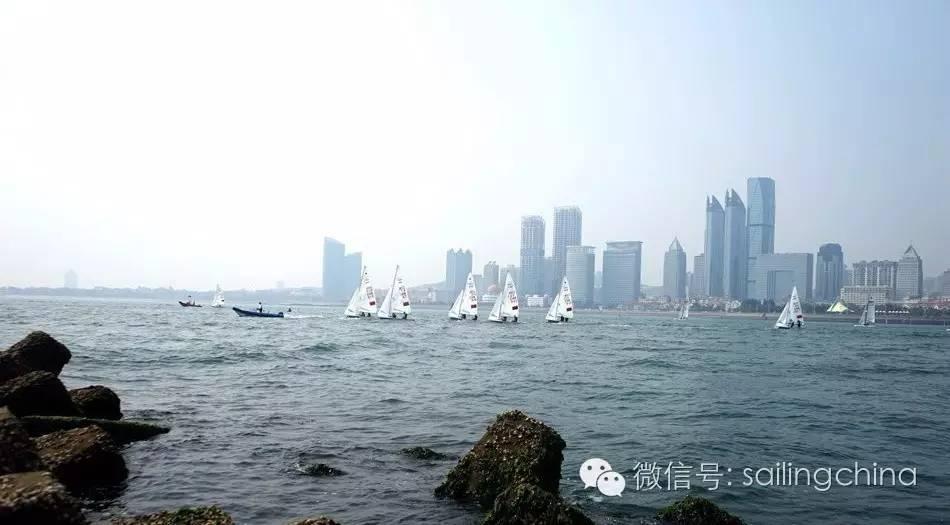 蓝天 碧海 白帆 世界杯帆船赛青岛站今日扬帆 93bf774fe373812fa6cca022fc1e0f6c.jpg
