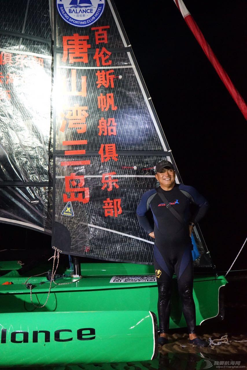 中国,渤海,帆船 中国首次单人单船无停靠无动力驾驶三体帆船穿越渤海 248029571508507611.jpg