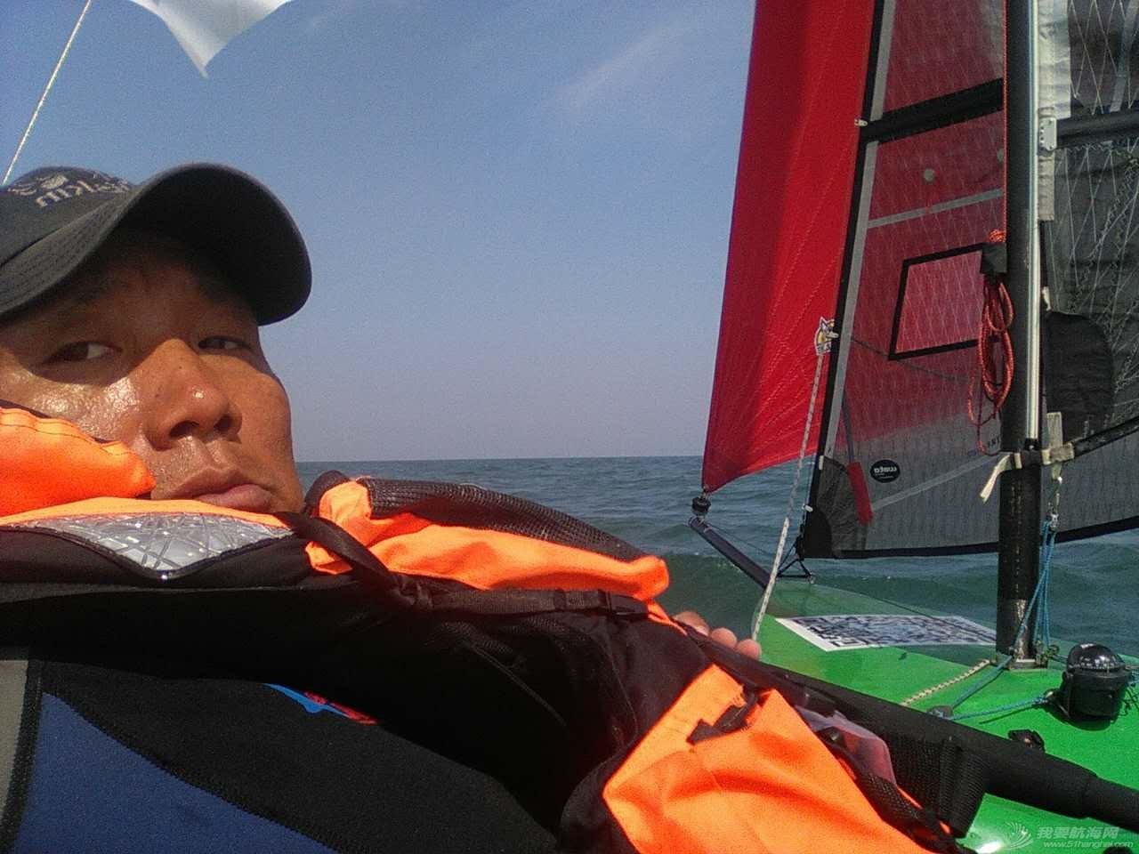 中国,渤海,帆船 中国首次单人单船无停靠无动力驾驶三体帆船穿越渤海 173357133359324571.jpg