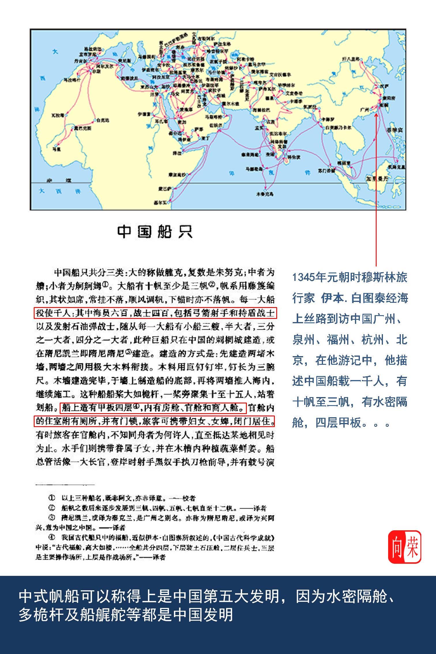 中华文化,旅行社,香港大学,南海诸岛,帆船运动 《中式帆船古为今用》展览,让老邝带你看中式帆船! Slide3.JPG