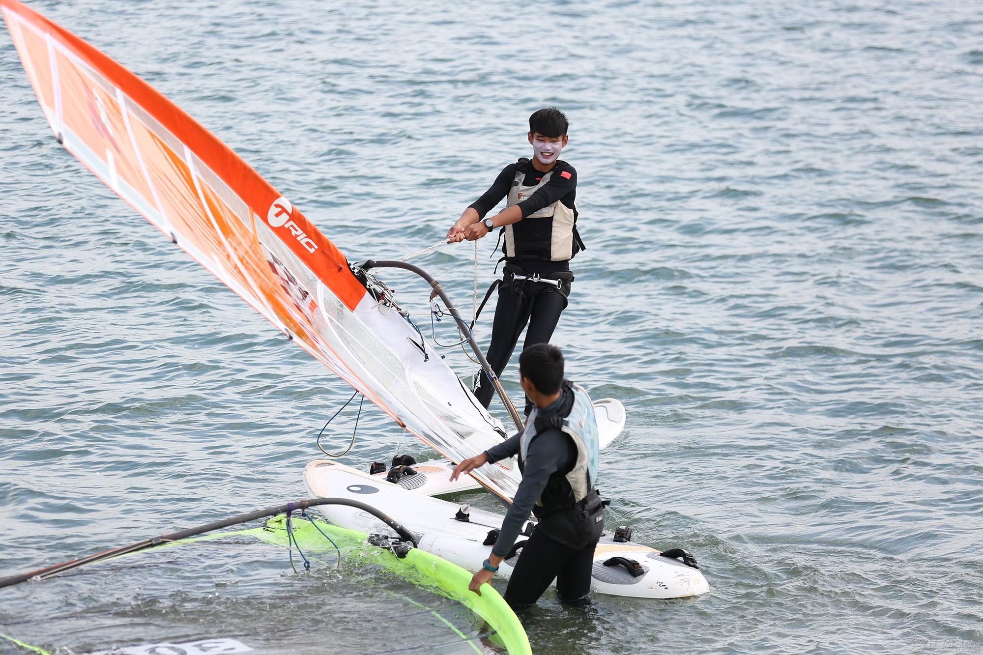 山东省,冠军赛,帆板,帆船 忙碌的赛前准备——山东省帆船帆板冠军赛花絮 5V8A9630.JPG