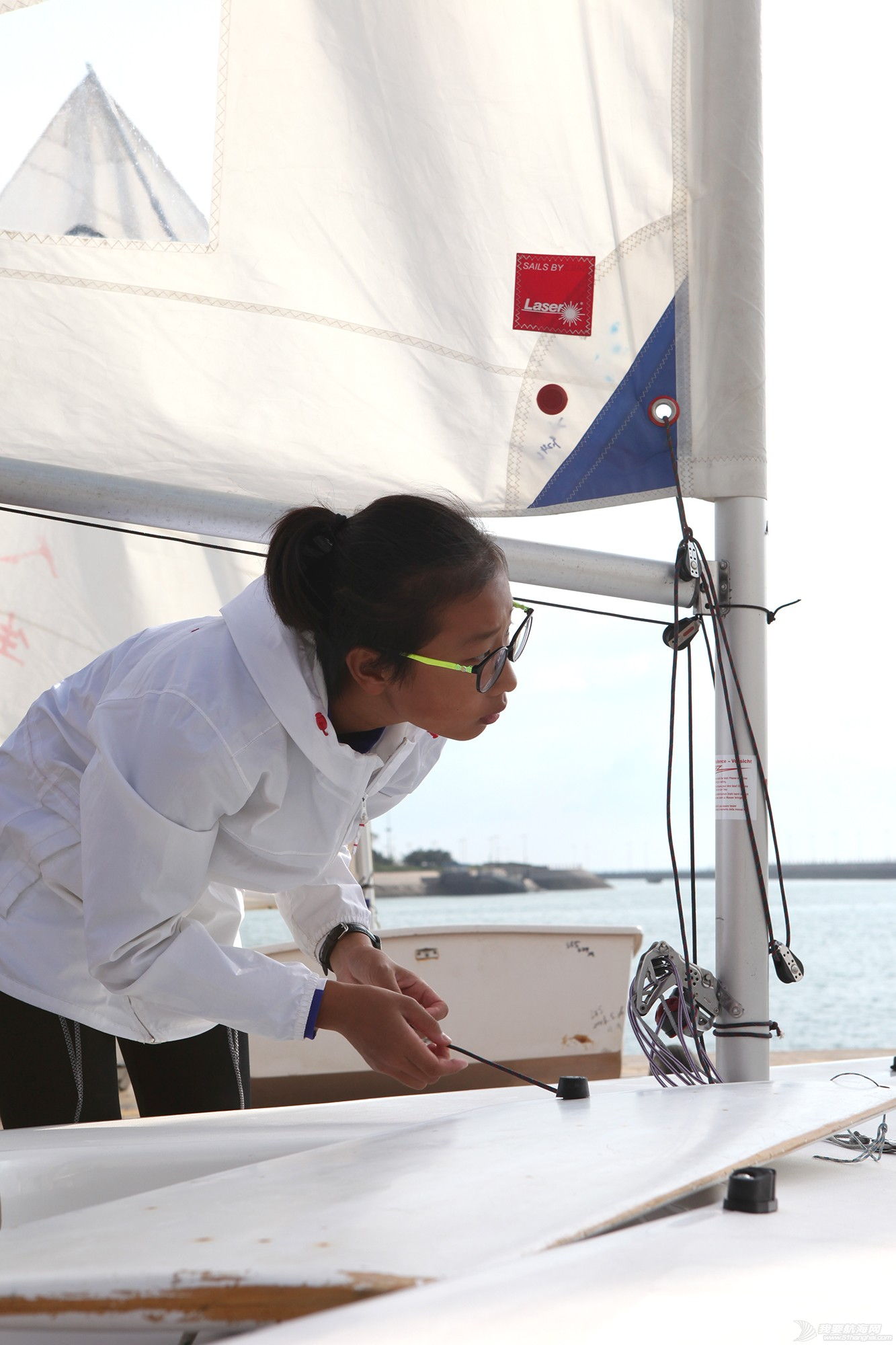 山东省,冠军赛,帆板,帆船 忙碌的赛前准备——山东省帆船帆板冠军赛花絮 IMG_7271.JPG