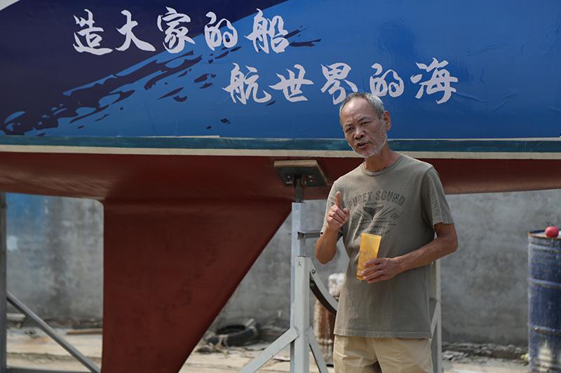 帆船,北京通州,纯手工,爱好者,中国 纯手工DIY帆船GR-750正式由佟晓舟老师在北京果村建筑完成 5V8A9244.jpg