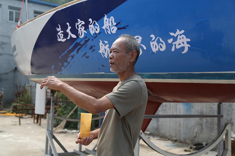 帆船,北京通州,纯手工,爱好者,中国 纯手工DIY帆船GR-750正式由佟晓舟老师在北京果村建筑完成 5V8A9246.jpg
