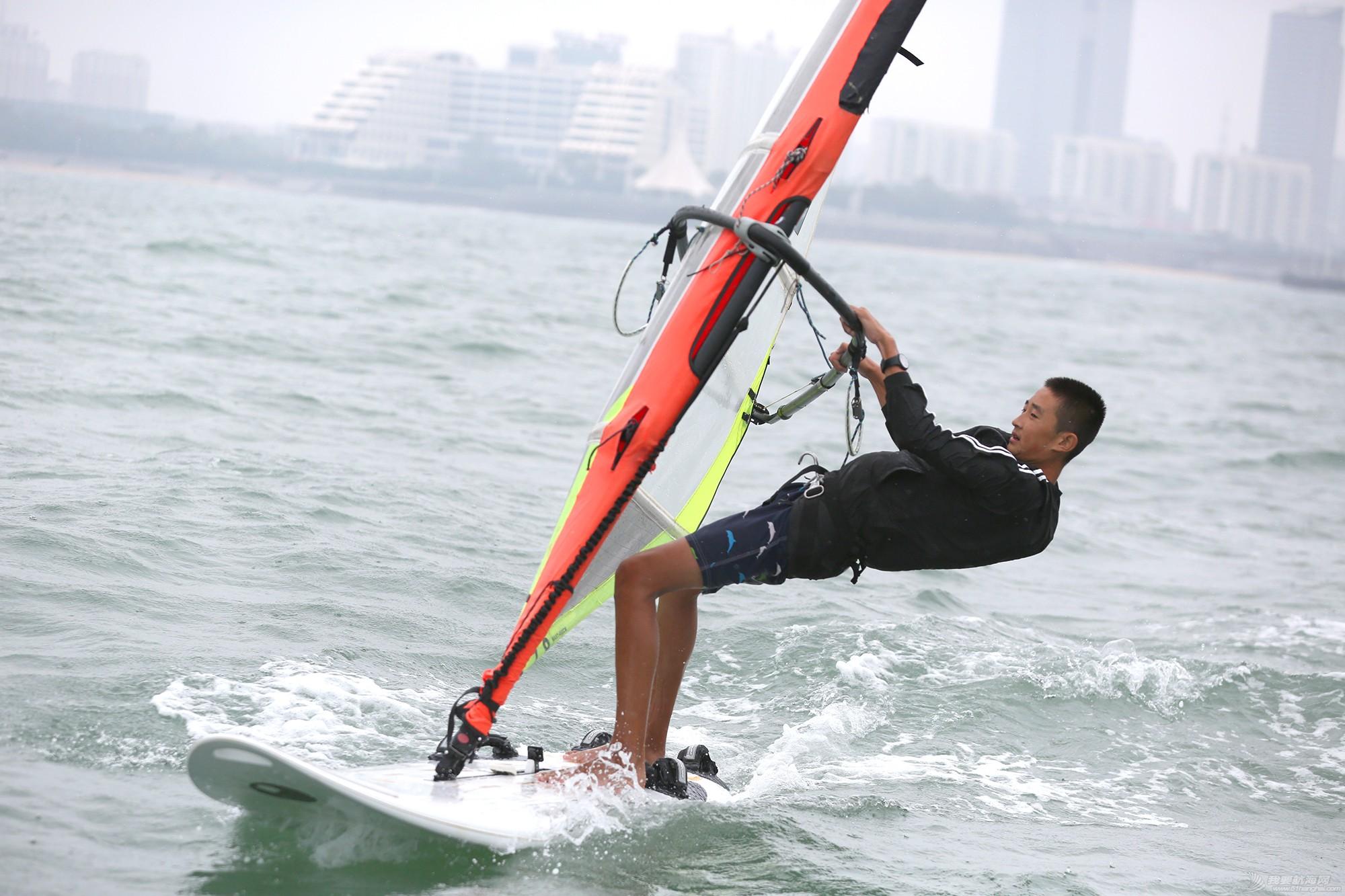 山东省,运动员,冠军赛,天气,帆板 风生水起,怎奈个个都是浪里白条——山东省帆船帆板冠军赛第二天赛况 5V8A1778副本.jpg