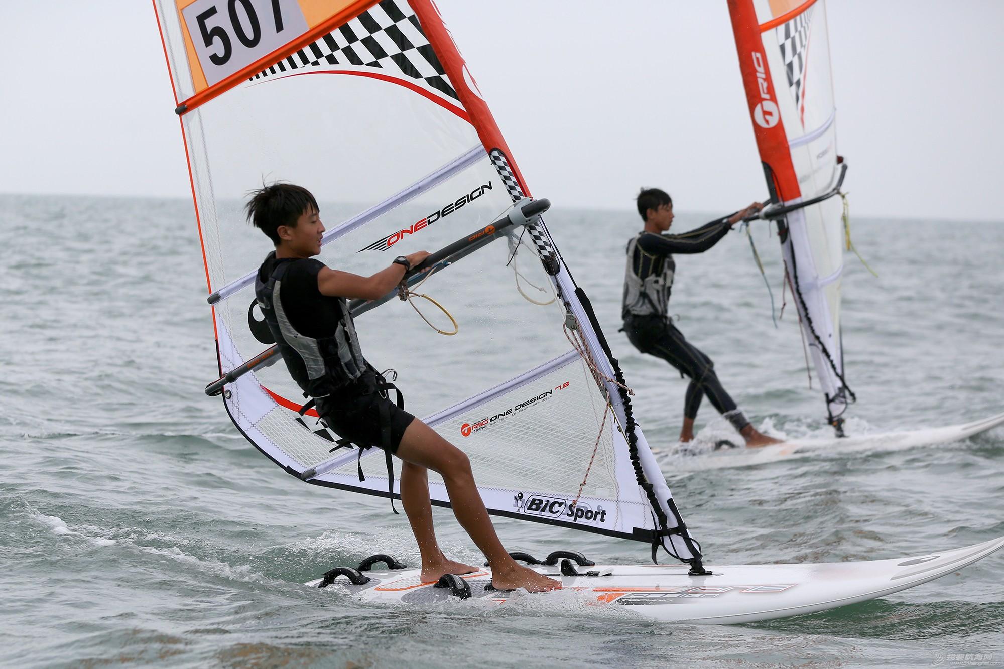 山东省,运动员,冠军赛,天气,帆板 风生水起,怎奈个个都是浪里白条——山东省帆船帆板冠军赛第二天赛况 5V8A2309副本.jpg