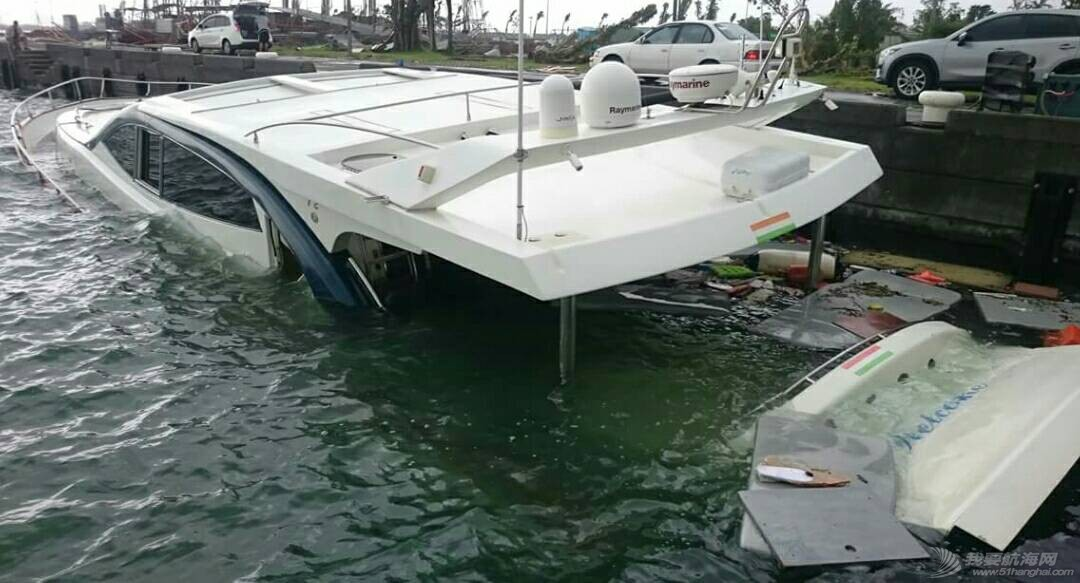 """""""鲇鱼""""给台湾的游艇带来很大的破坏。 181404ct9przmxprmipzpz.jpg"""