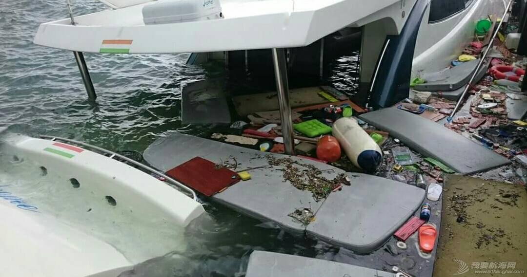 """""""鲇鱼""""给台湾的游艇带来很大的破坏。 181405vsp9197vqpvbs10p.jpg"""