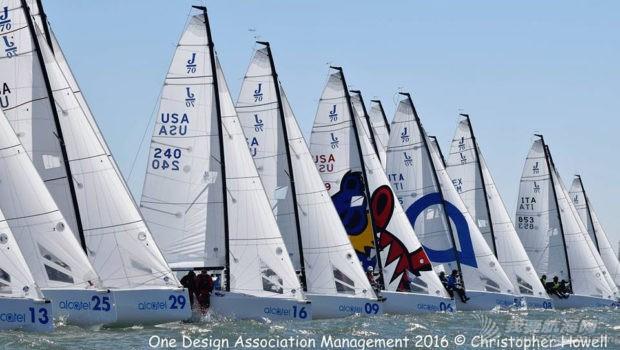 厦门大学,澳大利亚,西班牙,中国队,世界锦标赛 一周风帆世界9.24-9.30 J70.jpg