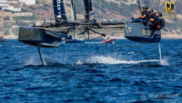 厦门大学,澳大利亚,西班牙,中国队,世界锦标赛 一周风帆世界9.24-9.30 GC32.jpg