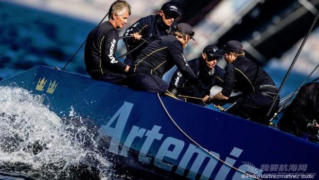 厦门大学,澳大利亚,西班牙,中国队,世界锦标赛 一周风帆世界9.24-9.30 RC44.jpg