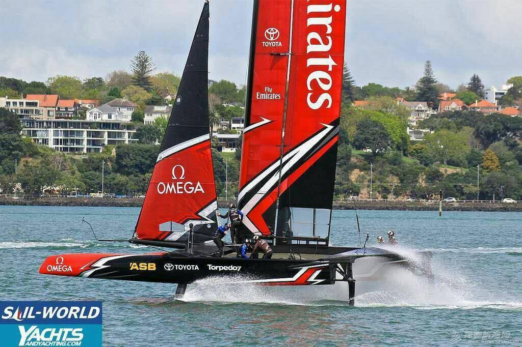 美洲杯帆船赛 新西兰酋长队 071832u97568an3wbww7zh.jpg