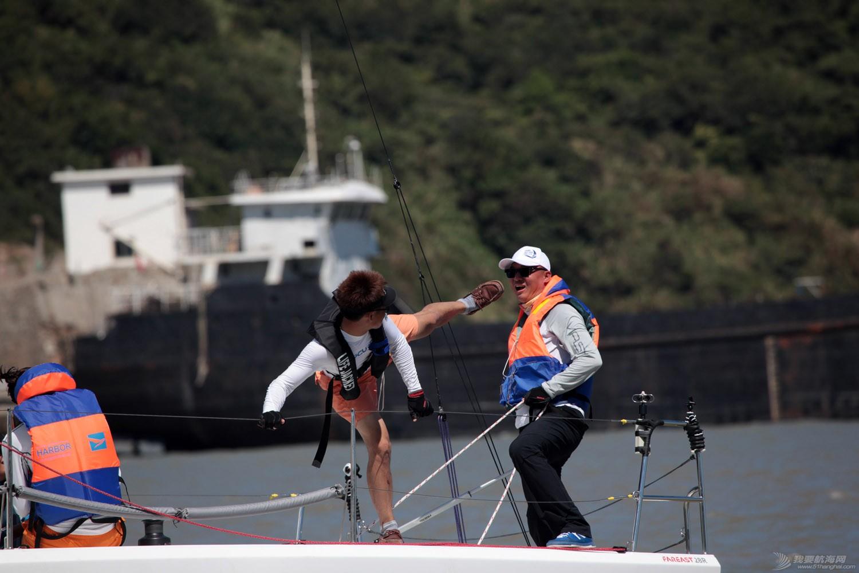 """东海,纪实,台州,威海 台州首届""""东海杯""""帆船赛落幕-威海两支参赛队伍参赛纪实 台州首届东海杯国际帆船赛照片"""