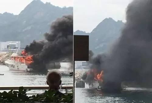 有限公司,起火原因,救护车,消防员,避风塘 香港筲箕湾又一18米游艇起火焚毁|游艇消防不可不查 b8fdb0e51d43577a190c6a75dff0a15f.jpg