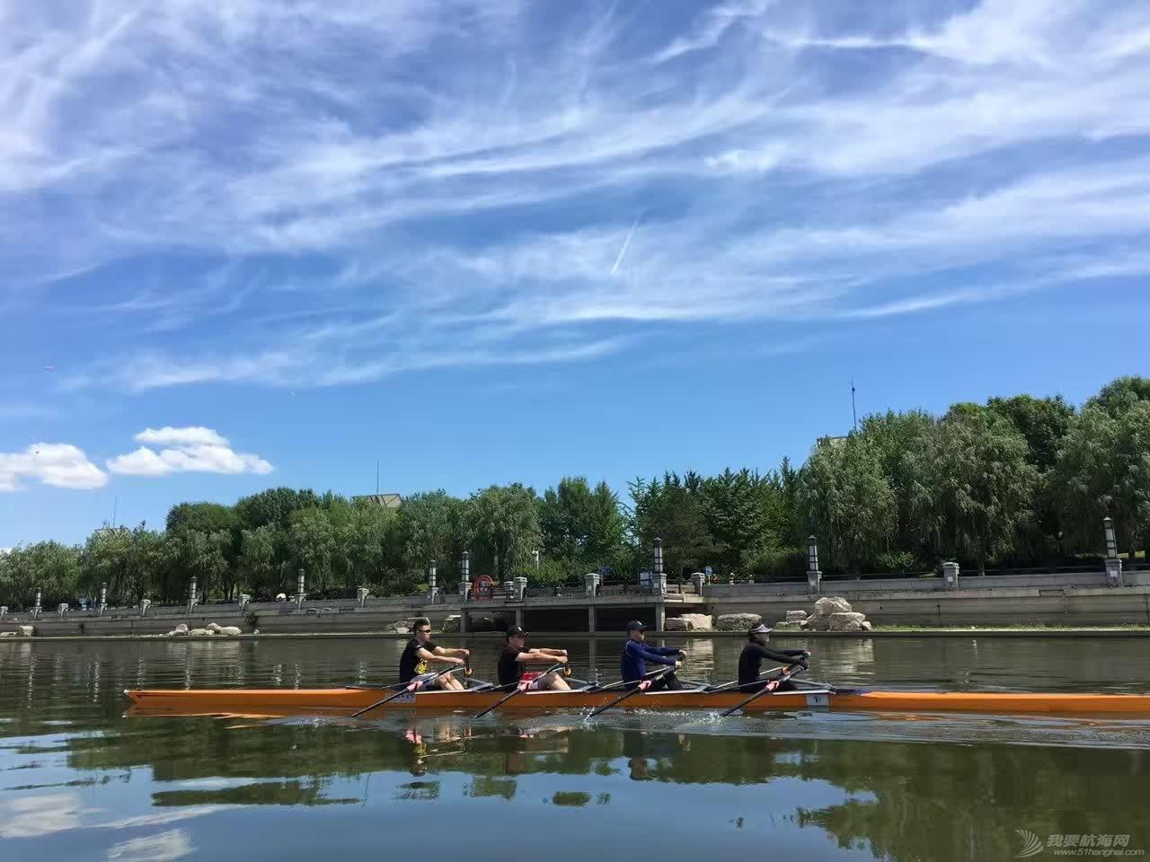 北京运河游艇会 赛艇