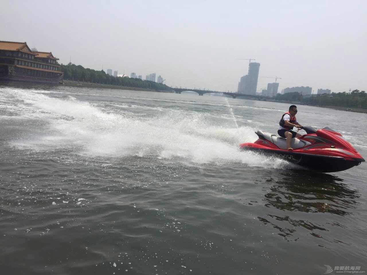 北京运河游艇会 摩托艇