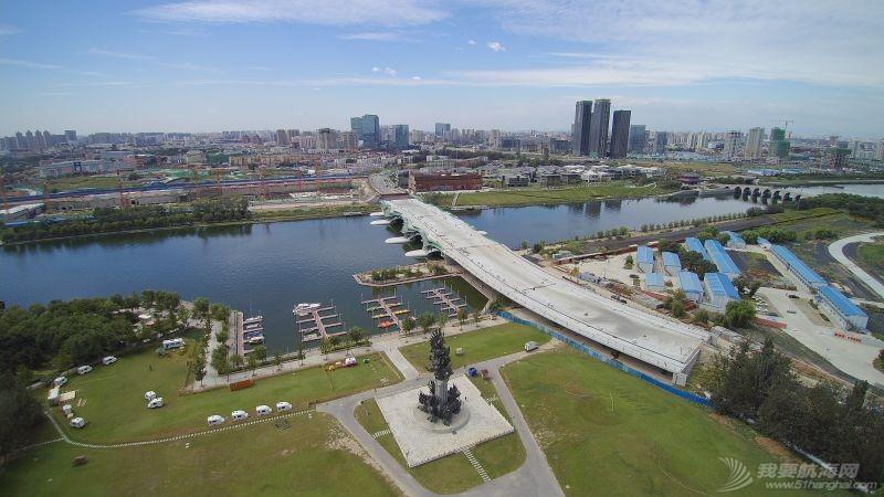 北京运河游艇会 鸟瞰图