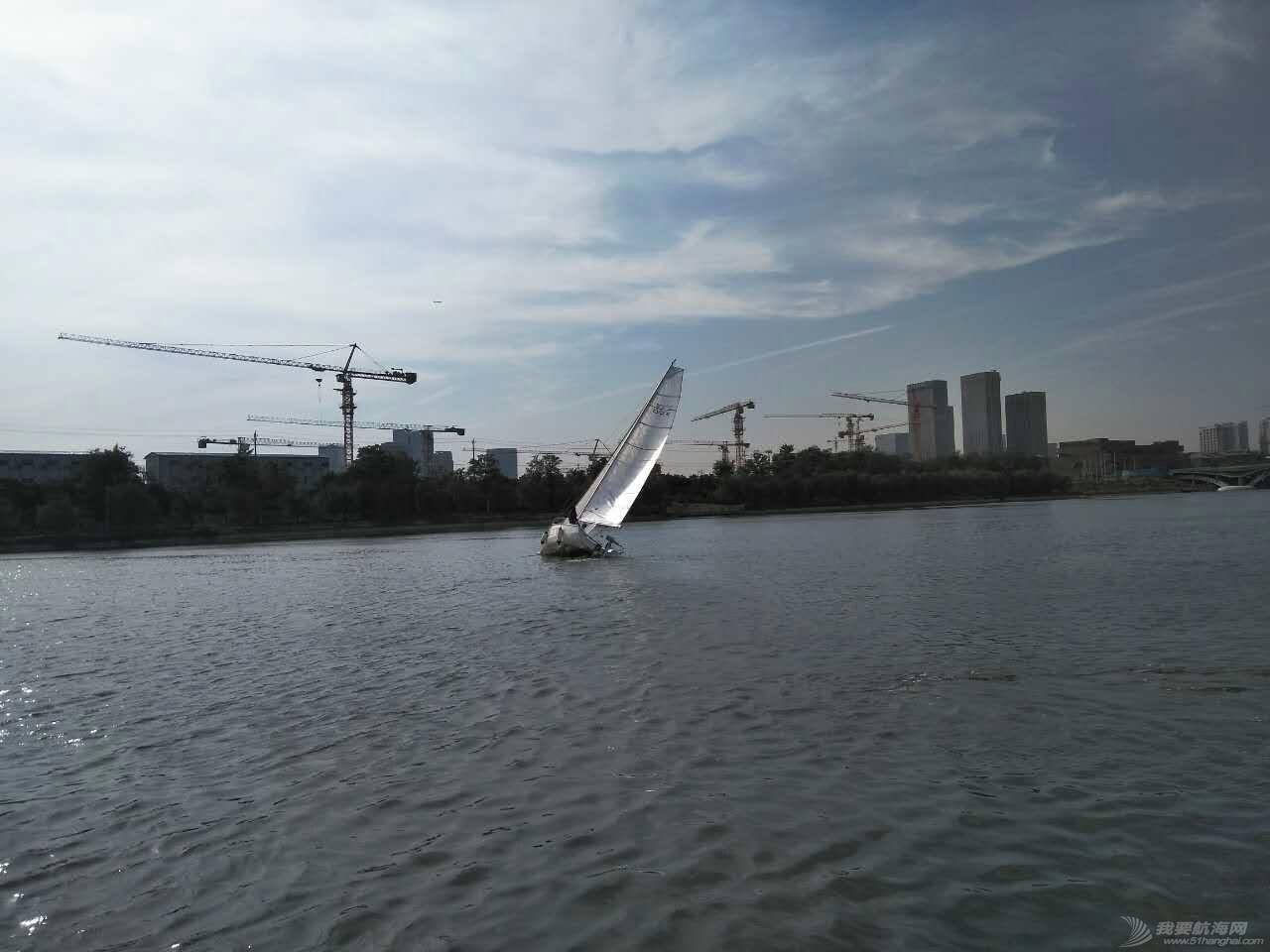 北京运河游艇会 帆船