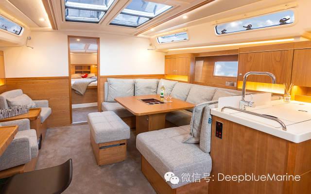 外观时尚,性能出色的汉斯帆船H455