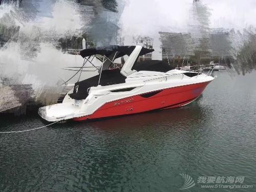 原装进口拉尔森29尺游艇转让