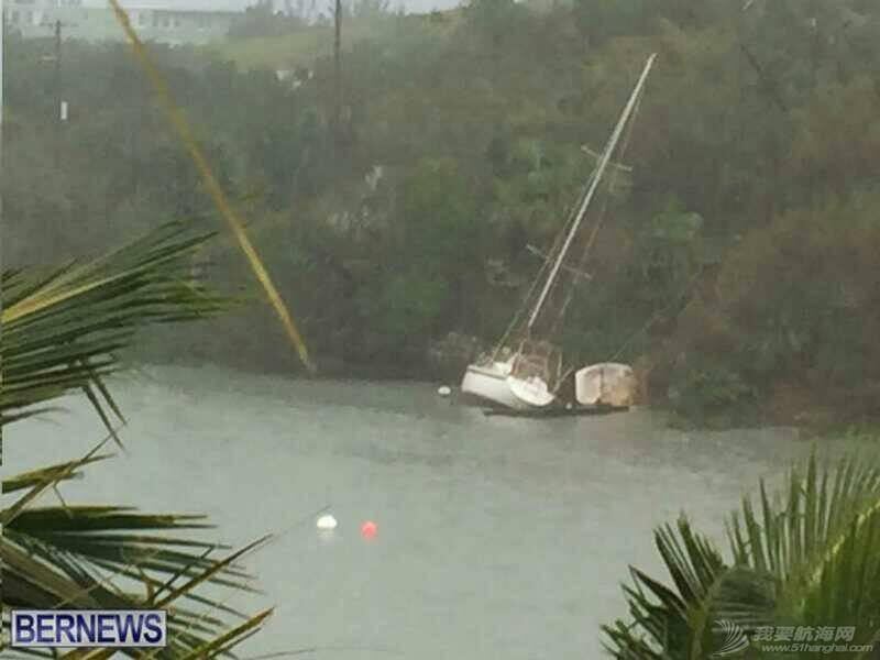 """十月十三日,飓风""""妮可""""重创百幕达。 103044bbupjuznocu7oze9.jpg"""
