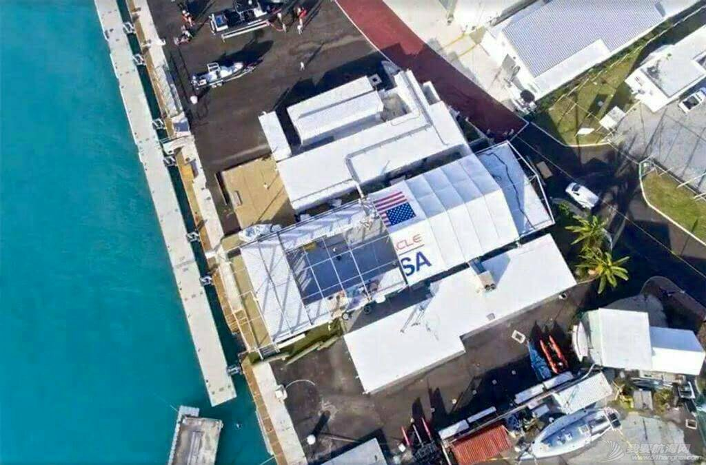 """十月十三日飓风""""妮可""""掠过""""美洲杯""""甲骨文队基地后。 103905dusbruqmyamlxsm5.jpg"""